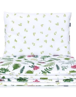 Laste voodipesukomplekt liblikad ja sõnajalad