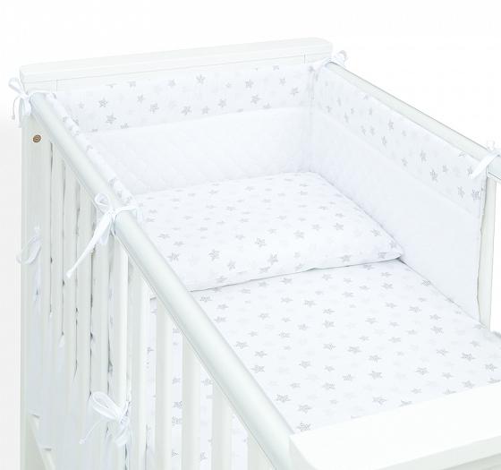 Laste voodipesukomplekt voodipehmendusega #tähekesed
