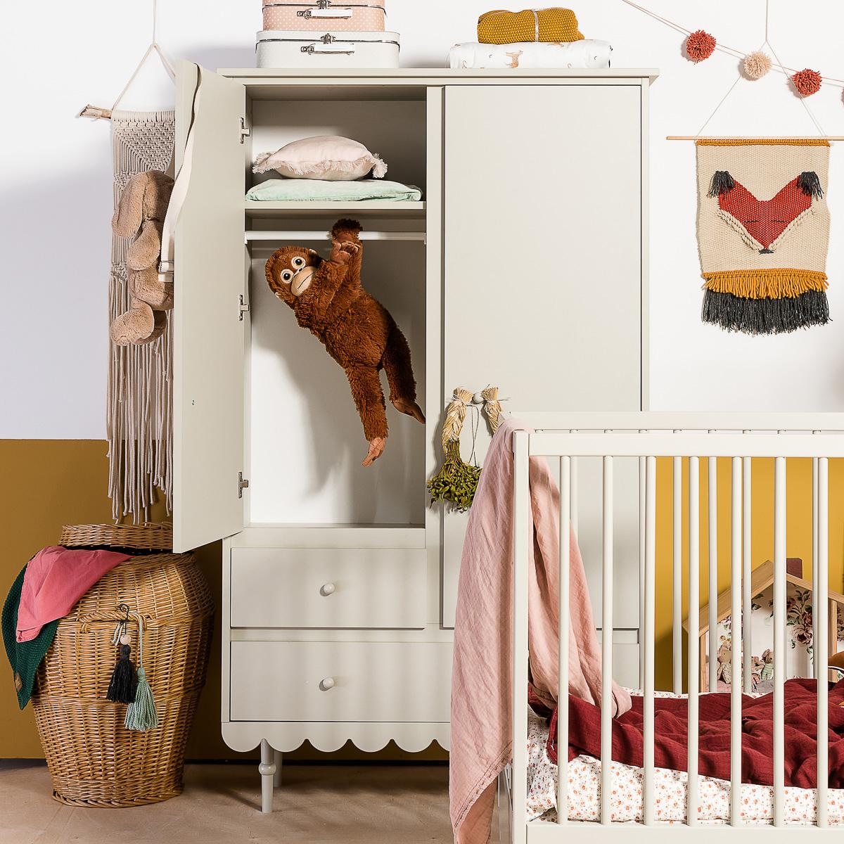 Laste riidekapid ja riiulid