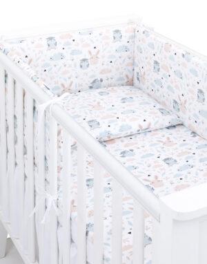 Laste voodipesukomplekt pehmendusega Polina