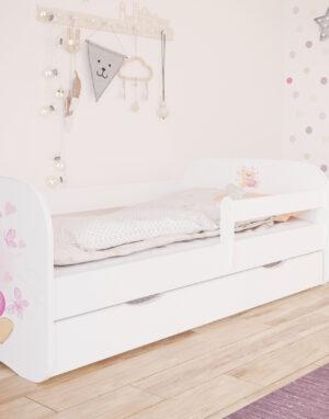 Lastevoodi madratsi ja voodikastiga