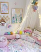 Satiinist voodipesu lastele