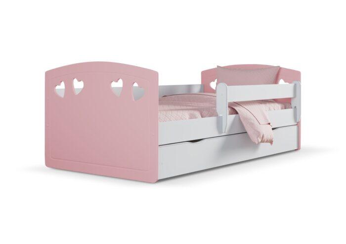 Lastevoodi voodikastiga #Julia roosa